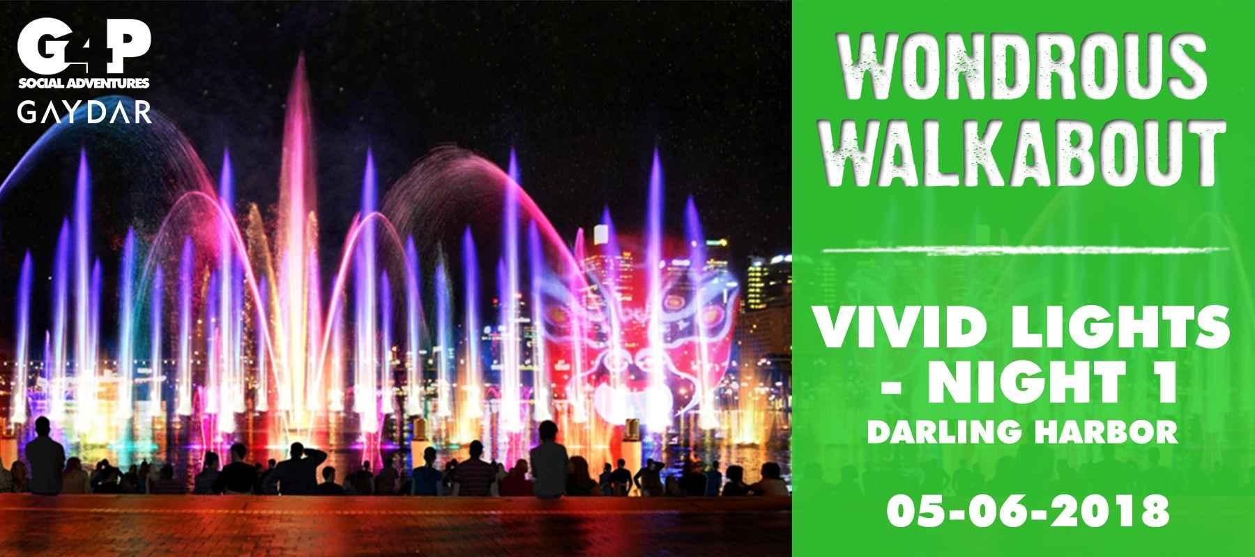 Wondrous Walkabout – Vivid Lights – Night 1